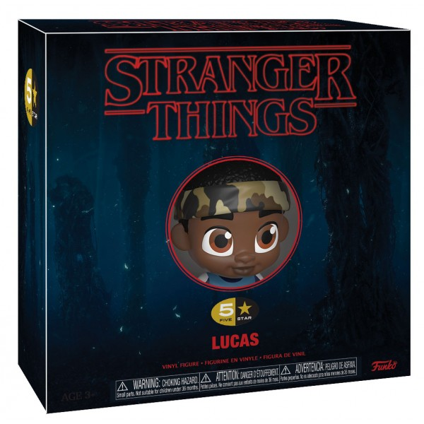 Фигурка Funko Vinyl: 5 Star: Stranger Things:  Лукас Синклер