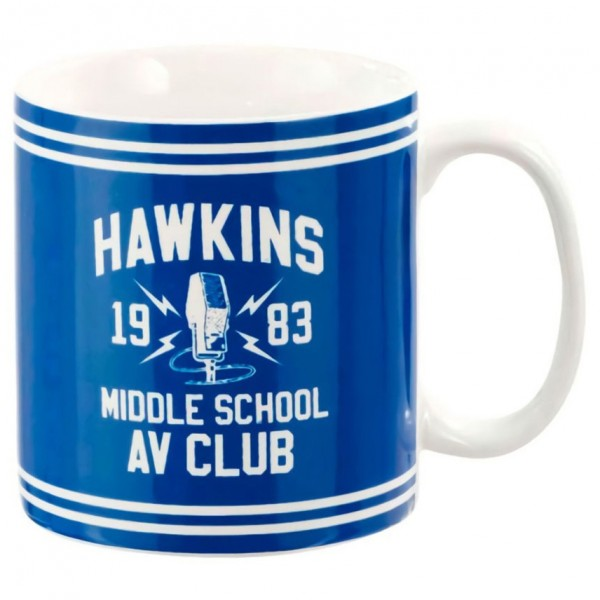 Кружка керамическая Funko Stranger Things: Mug: Hawkins AV Club