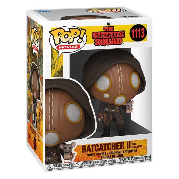 Фигурка POP! Vinyl: Suicide Squad: Ratcatcher II with Sebastian