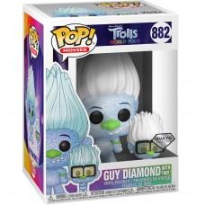 Фигурка Funko POP! Vinyl: Trolls: TWT: Guy Diamond with Tiny