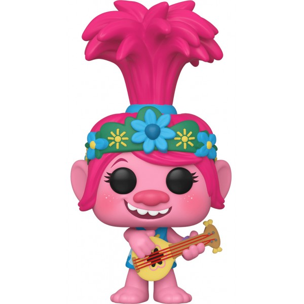 Фигурка Funko POP! Vinyl: Trolls: TWT: Queen Poppy with Guitar (Эксклюзив)