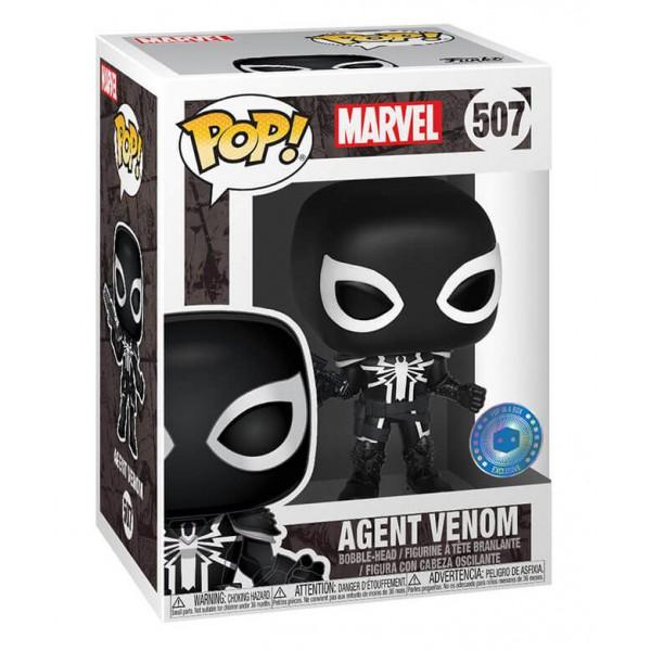Фигурка Funko POP! Bobble Marvel: Agent Venom w/ chase (Эксклюзив)