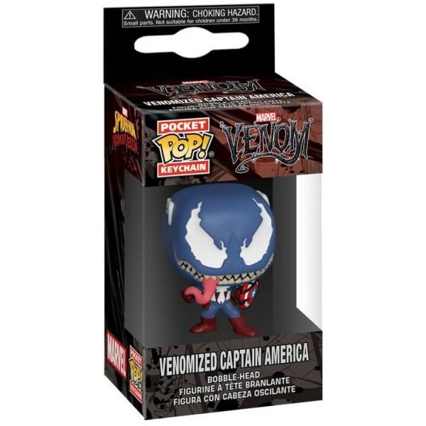 Брелок Funko Pocket POP! Keychain: Marvel Venom: Captain America