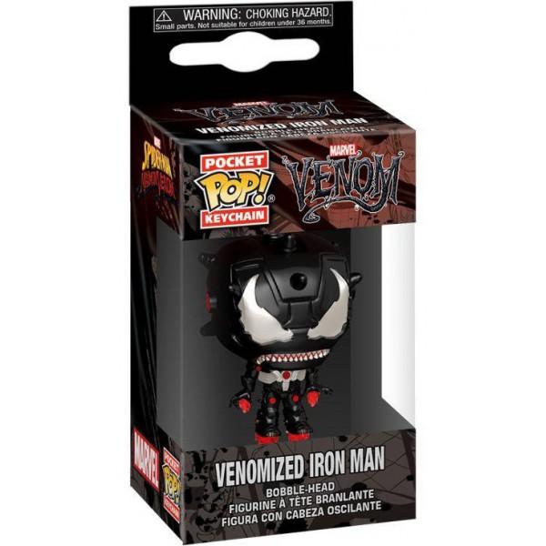 Брелок Funko Pocket POP! Keychain: Marvel Venom: Venomized Iron Man