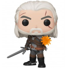 Фигурка Funko POP! Vinyl: Games: Witcher: Geralt Igni (GW) (Эксклюзив)