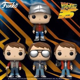 Новые фигурки Funko POP! к юбилею трилогии «Назад в будущее».