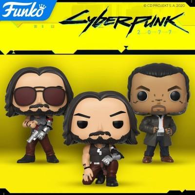 Фигурки Funko POP! по игре Cyberpunk 2077 уже в продаже!