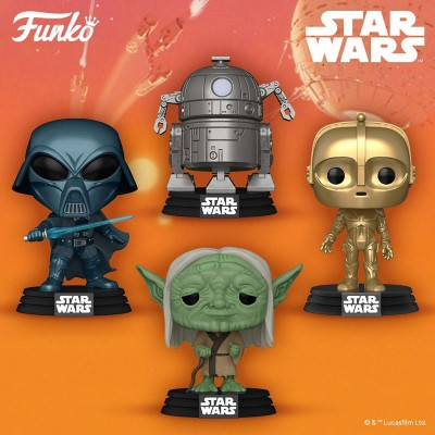 Новая коллекция Funko POP Star Wars Concept series
